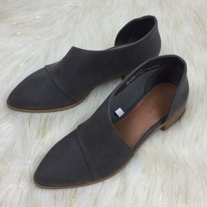 Universal Thread Grey Cut Out Booties